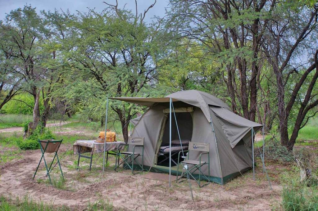 Heritage Blue Ribbon safari tent