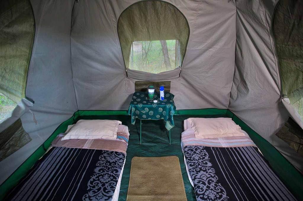 Heritage Standard tent interior